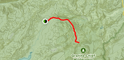 Picayune Valley Trail Map