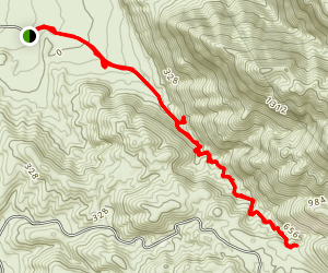 Desolation Canyon Trail Map