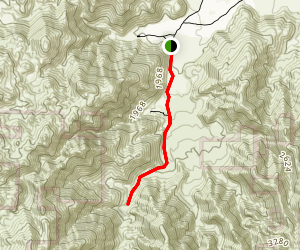 Indian Canyon Trail Map