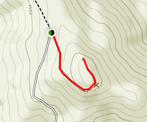 Los Pinos Lookout Map