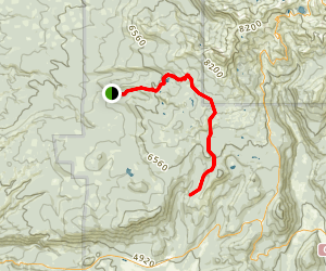 Heart Lake Twin Meadows Trail Map