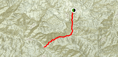Judell Canyon Trail Map