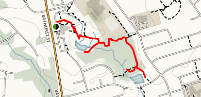Elgin West Greenway Walk  Map