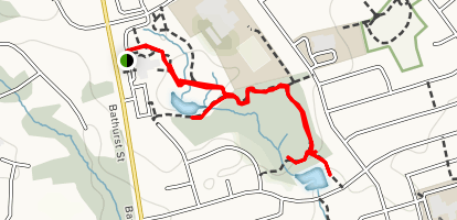 Elgin West Greenway Walk [CLOSED] Map