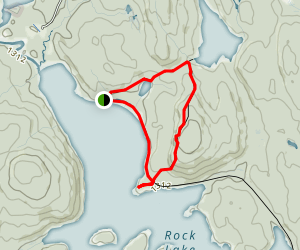 Booth's Rock Trail Map