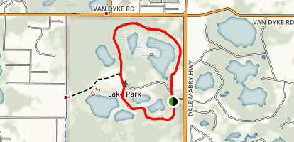 Lake Park Loop Map