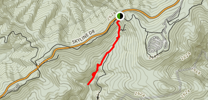 Doyles River Falls Trail Map