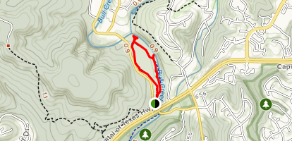 Irving and Hazeline Smith Memorial Trail Map
