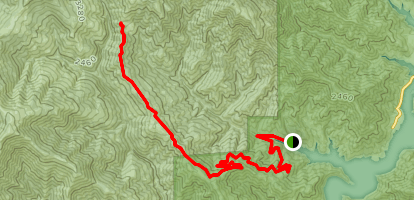 Backbone Ridge Trail Map