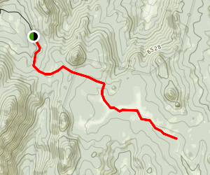 Albanita Meadow Hike Map