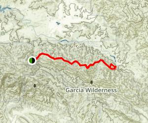 Garcia Ridge Trail Map