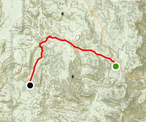 Chimney Peak Byway Map