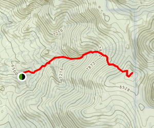 Badenaugh Trail Map