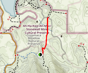 Los Caballos Trail Map