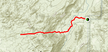 Rockhouse Meadow Trail Map
