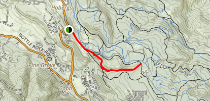 Creek Trail via Houghton Creek Map
