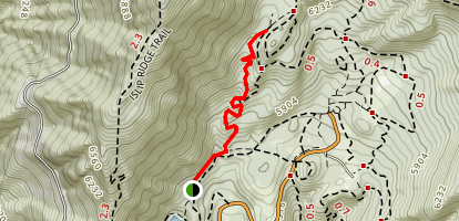 Lost Ridge Trail Map