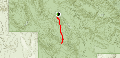 Alessandro Trail Map