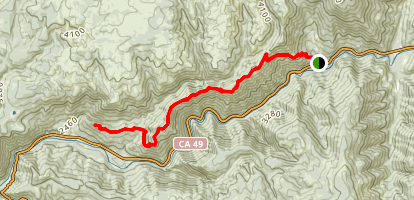 Fiddle Creek  Ridge Trail Map