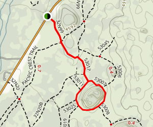 Spattercone Nature Trail Map