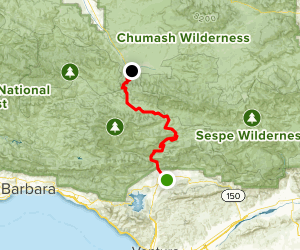 Jacinto Reyes Scenic Byway Map