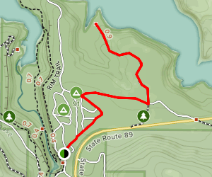 Pioneer Cemetery Trail Map