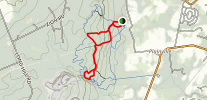 Sourland Mountain Ridge Inner Loop Trail Map