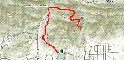 Foothill Trail Map