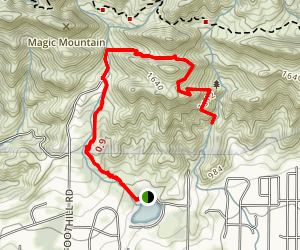 Foothill Trail (CLOSED) Map
