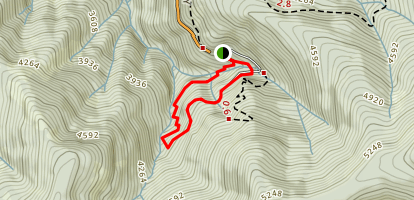 No Name Trail Map