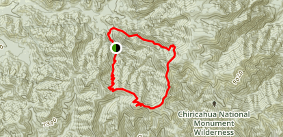 Johnson Peak Loop Map
