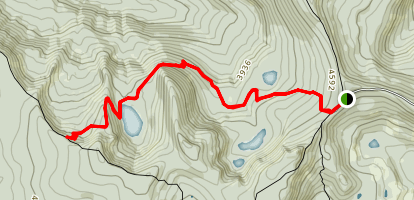 Serene Lake Trail Map