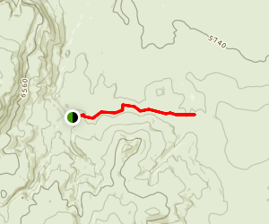 Warner Valley Jeep Trail Map