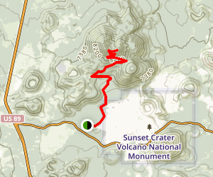 O'Leary Peak Trail Map