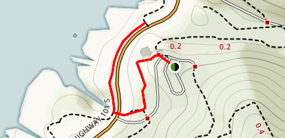 Cape Cove Trail Map