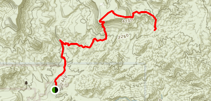 Skull Mesa Trail Map