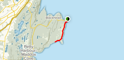 Cape Spear Map