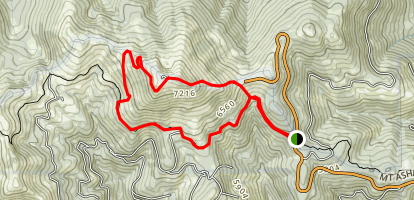 Mount Ashland Trail Map
