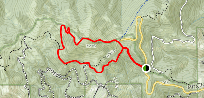 Ashland Montana Map.Mount Ashland Trail Oregon Alltrails