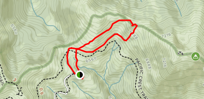 Grouse Gap Trail Map