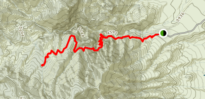 Mazatzal Peak Map