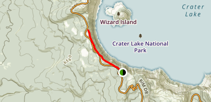Discovery Point Trail Map