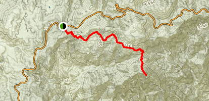 Three Points to Twins Peaks Map