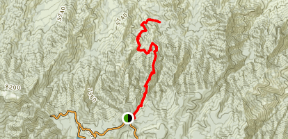Blair Canyon Map