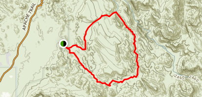 Second Water Trail Map