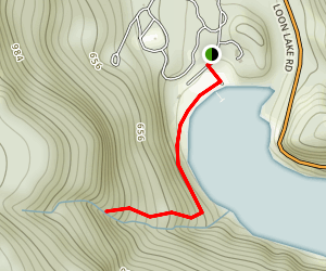 Loon Lake Map