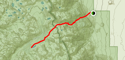 Bench Lake Trail Map