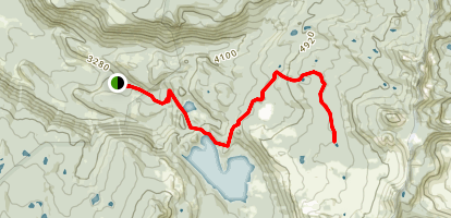 Swallow Lake Trail Map