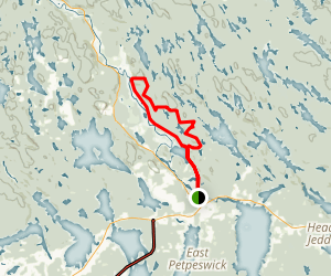 South Granite Ridge Trail Map