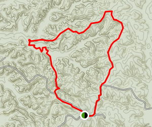 Tunica Hills C Trail Map